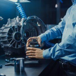 Motor remanufacturado